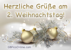 2. Weihnachtstag GB Pic #23086