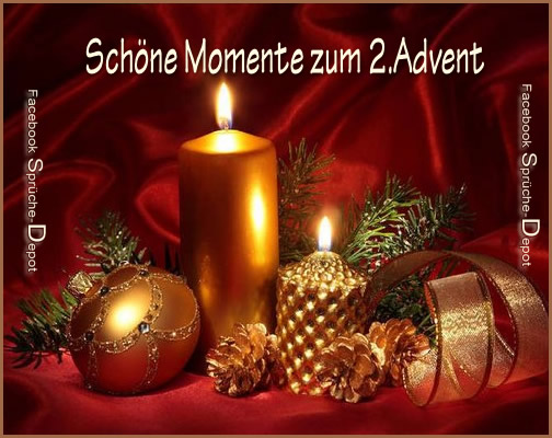 sch ne momente zum 2 advent bild herunterladen. Black Bedroom Furniture Sets. Home Design Ideas