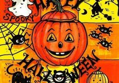 Servietten Happy Halloween