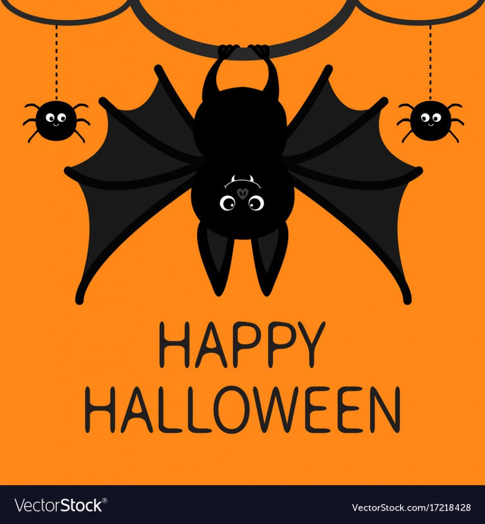 bat-hanging-spider-dash-line-web-happy-halloween-vector-17218428
